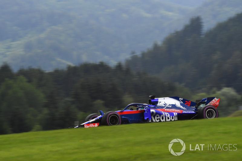 19. Brendon Hartley, Scuderia Toro Rosso STR13