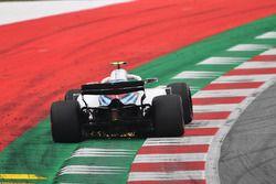 Sergey Sirotkin, Williams FW41 sypie iskrami