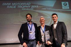Marc Bongers, Sébastien Le Grelle, Uwe Geyer, BMW Motorrad Race Trophy 2017
