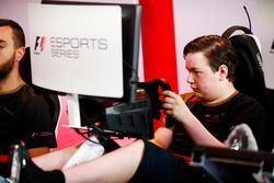 Winner Brendon Leigh in action in the E-Sports arena