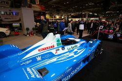 Des voitures du Mans exposées