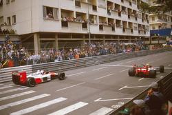 Ayrton Senna, McLaren MP4/4 Honda, Alain Prost, McLaren MP4/4 Honda