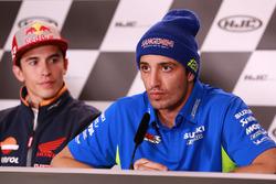Марк Маркес, Repsol Honda Team, и Андреа Янноне, Team Suzuki MotoGP