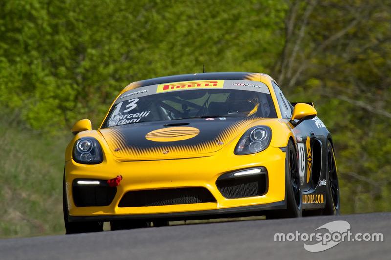 #13 Pfaff Motorsports Porsche Cayman GT4 CS-MR: Orey Fidani