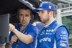 Dario Franchitti and Ed Jones, Chip Ganassi Racing Honda