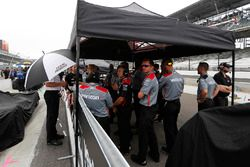 Team Penske is klaar voor de regen