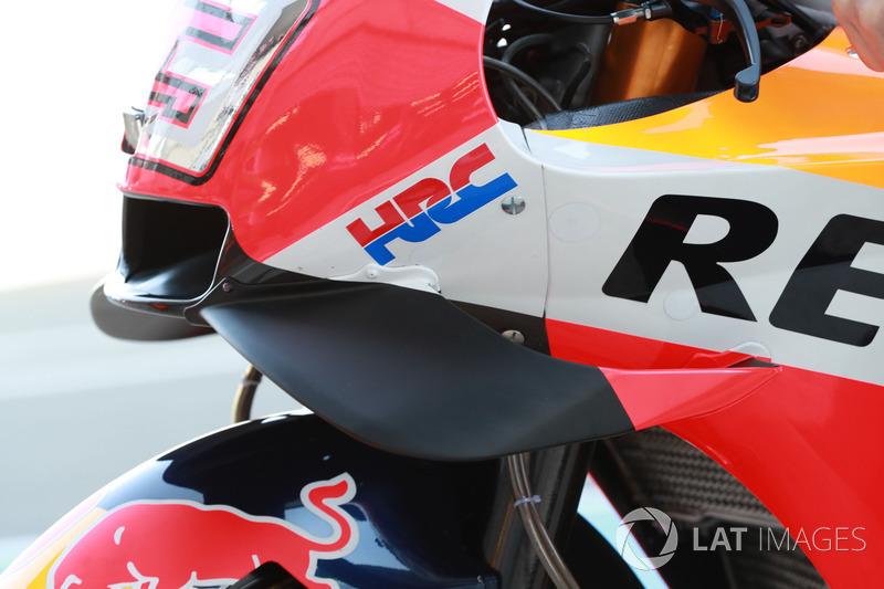 Marc Marquez, Repsol Honda Team, fairing