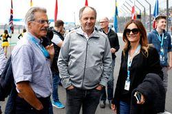 Dr. Mario Theissen, Gerhard Berger, ITR voorzitter