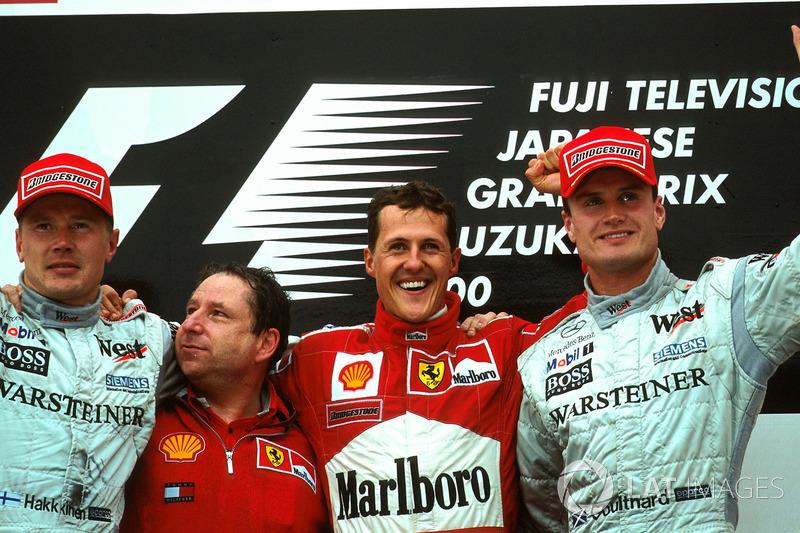 A escolha não poderia ter sido mais certeira. No final de 1995, um convite a Michael Schumacher daria início a um grande período de vitórias, com cinco títulos consecutivos de pilotos e construtores, de 2000 a 2004, além do campeonato de Kimi Raikkonen em 2007, o último da escuderia.