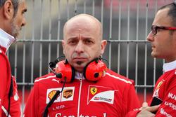 Simone Resta, designer en chef de Ferrari