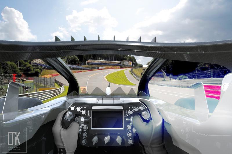 Halo 4.0 konsepti, araç içi görüş