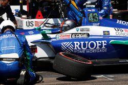 Marco Andretti, Herta - Andretti Autosport Honda au stand