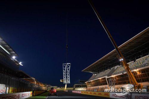 Nouvelle ligne de départ au Mans