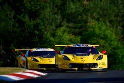 #4 Corvette Racing Chevrolet Corvette C7.R, GTLM: Oliver Gavin, Tommy Milner, #3 Corvette Racing Chevrolet Corvette C7.R, GTLM: Antonio Garcia, Jan Magnussen