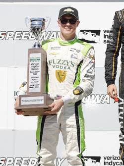 2. Spencer Pigot, Ed Carpenter Racing Chevrolet