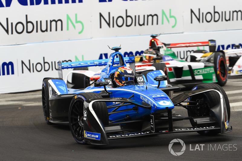Sébastien Buemi, Renault e.Dams, Daniel Abt, Audi Sport ABT Schaeffler