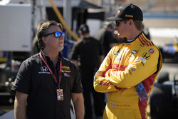 Ryan Hunter-Reay, Andretti Autosport Honda, mit Michael Andretti