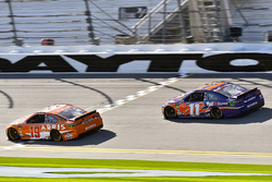 Daniel Suarez, Joe Gibbs Racing Toyota and Denny Hamlin, Joe Gibbs Racing Toyota