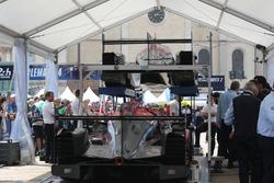 Автомобиль Oreca 07 Gibson (№37) команды Jackie Chan DC Racing