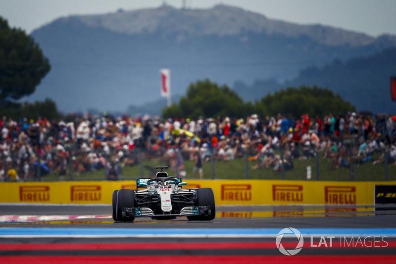Hamilton fue el mejor en clasificación en el regreso de Paul Ricard a la F1