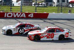 Kaz Grala, Fury Race Cars LLC, Ford Mustang NETTTS and Christopher Bell, Joe Gibbs Racing, Toyota Camry Rheem