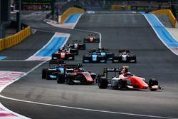 Christian Lundgaard, MP Motorsport and Jake Hughes, ART Grand Prix