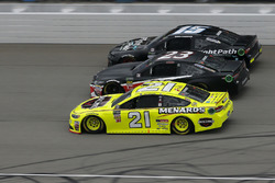 Gray Gaulding, BK Racing, Toyota Camry Paul Menard, Wood Brothers Racing, Ford Fusion Menards / Jack