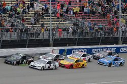Brad Keselowski, Team Penske, Ford Fusion Miller Lite Joey Logano, Team Penske, Ford Fusion Shell Pe