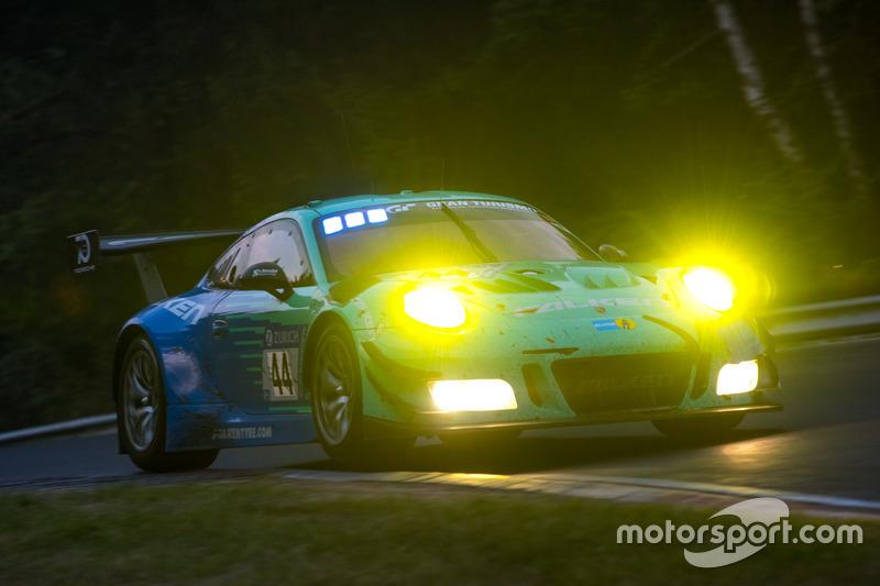 #44 Falken Motorsports Porsche 911 GT3 R: Klaus Bachler, Sven Müller, Martin Ragginger, Dirk Werner
