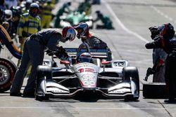 Will Power, Team Penske Chevrolet pit stop