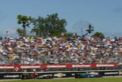 Alexander Rossi, Andretti Autosport Honda, Robert Wickens, Schmidt Peterson Motorsports Honda