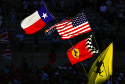 Texan, US, Ferrari flags