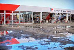 Zona del equipo Toyota Gazoo Racing