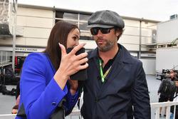 Minttu Virtanen, wife of Kimi Raikkonen, Ferrari Jay Kay, Jamiroquai on the grid