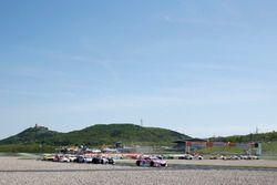 Start zum Rennen, #26 BWT Mücke Motorsport Audi R8 LMS: Jeffrey Schmidt, Stefan Mücke führt