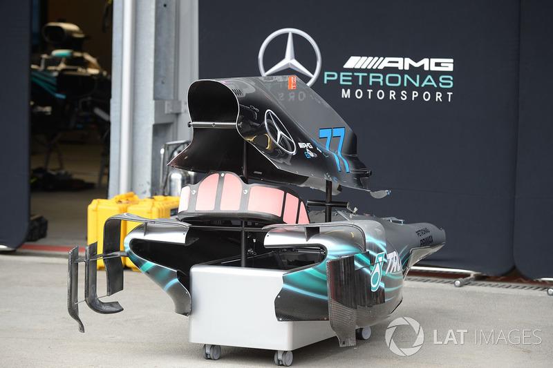 Bodywork of Mercedes-AMG F1 W09 EQ Power
