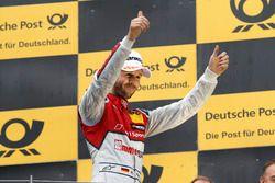 Podium: Racewinnaar René Rast, Audi Sport Team Rosberg, Audi RS 5 DTM