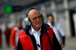 Dr. Wolfgang Ullrich, ex del equipo Audi