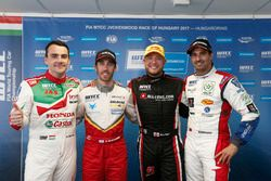 Press Conference, Norbert Michelisz, Honda Racing Team JAS, Honda Civic WTCC, Esteban Guerrieri, Cam