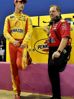 Joey Logano, Team Penske Ford and Todd Gordon