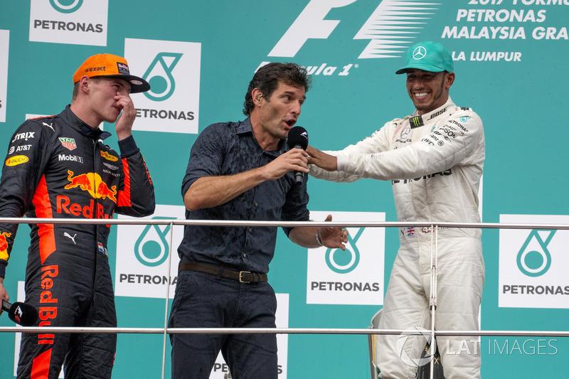 Max Verstappen, Red Bull Racing, Mark Webber, Lewis Hamilton, Mercedes AMG F1