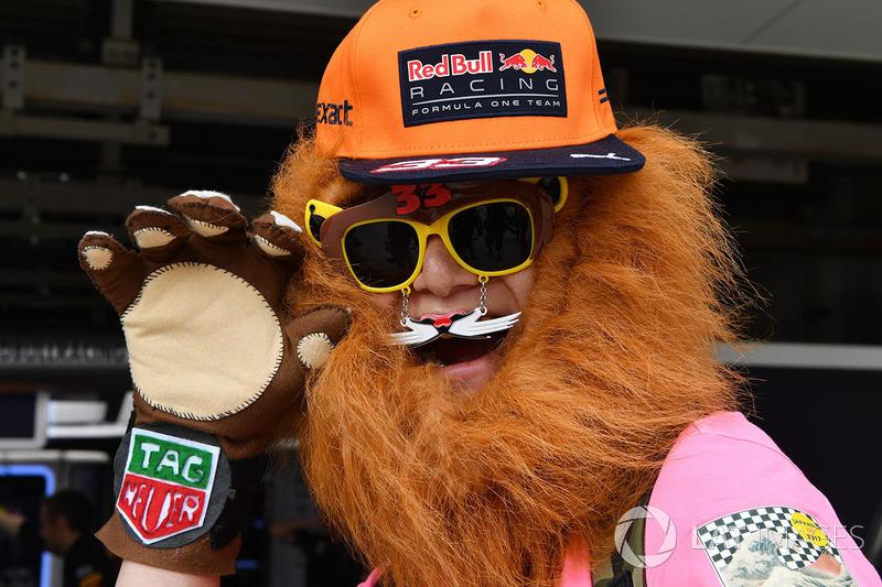 Max Verstappen, Red Bull Racing taraftarı