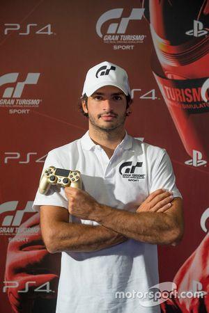 Carlos Sainz Embajador del GT Sport