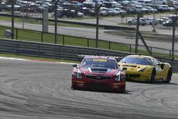 #3 Cadillac Racing Cadillac ATS-VR GT3: Johnny O'Connell, Ricky Taylor, #31 TR3 Racing Ferrari 488 GT3: Daniel Mancinelli, Niccolo Schiro