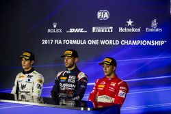 Press Conference: Sergio Sette Camara, MP Motorsport, Luca Ghiotto, RUSSIAN TIME, Antonio Fuoco, PRE
