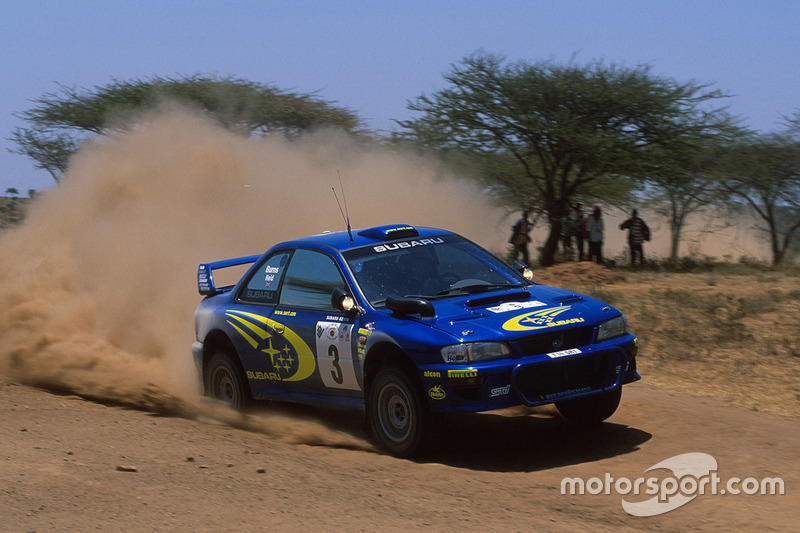 #8 Rally Safari 2000 : 122,43 km/h