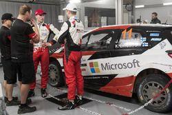 Juho Hänninen, Jari-Matti Latvala, Toyota Racing