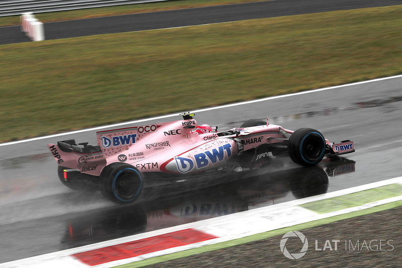 3: Esteban Ocon, Sahara Force India VJM10