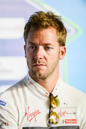 Sam Bird, DS Virgin Racing, nella conferenza stampa