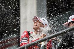 Podium des rookies : le deuxième Mick Schumacher, Prema Powerteam, Dallara F317 - Mercedes-Benz